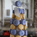 Bi-Colored Macaron Tower