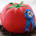 Tomato Birthday Cake