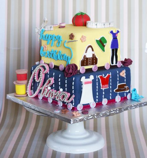 Olivia cake Birthday Cakes