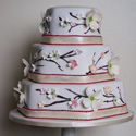 Dogwood Cherry Blossoms Cake