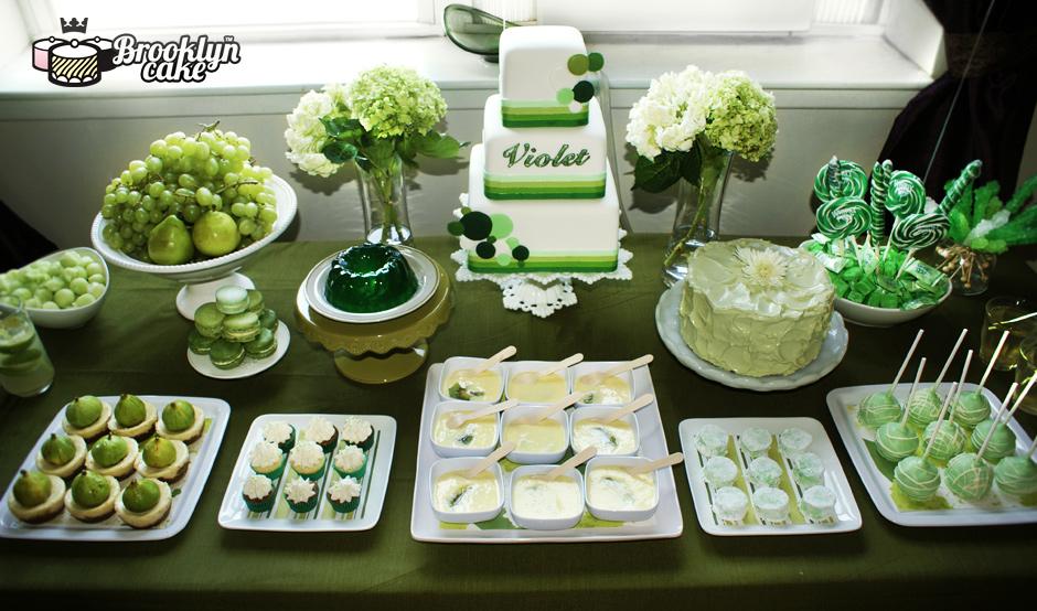 Violets 2rd birthday4 Dessert Tables