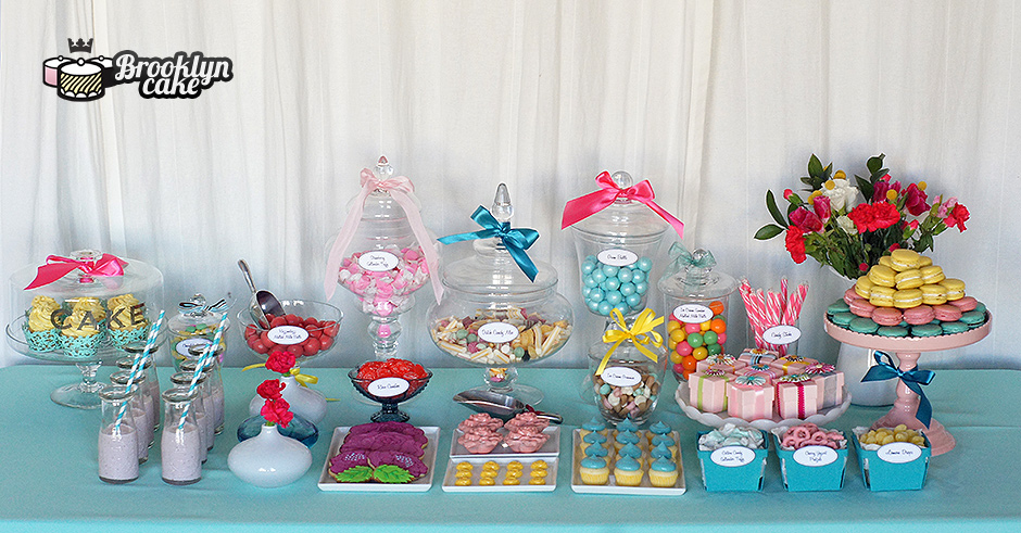 tiffany dessert table Dessert Tables