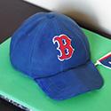 Baseball Cap Grooms Cake